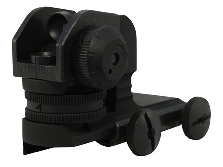 DPMS Detachable Rear Sight AR-15 Flat-Top Matte