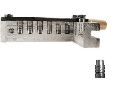 Lee 6-Cavity Bullet Mold C358-158-SWC 38 Special, 357 Magnum, 38 Colt New Police, 38 S&W (358 Diameter) 158 Grain Semi-Wadcutter Gas Check