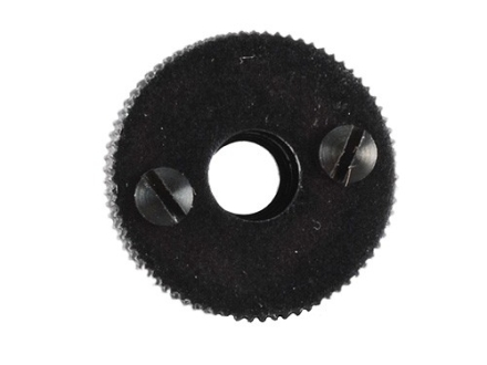 "Merit #4 Adjustable Hunting Aperture 1/2"" Diameter Long Shank (11/32"" Long) 10-32 Thread fits Marble's Sights Black"