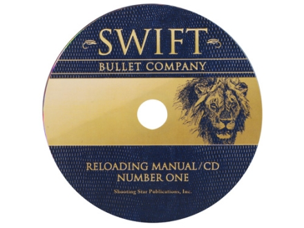 "Swift ""Reloading Manual: Number One"" CD-ROM"