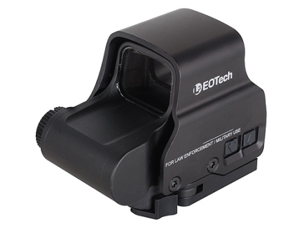 EOTech EXPS2-2 Holographic Weapon Sight 65 MOA Circle with (2) 1 MOA Dots Reticle Matte CR123 Battery