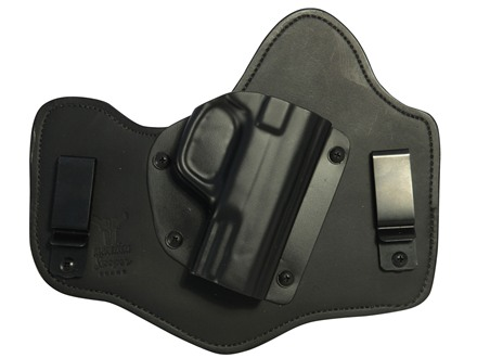 Blade-Tech Hybrid Tuckable Inside the Waistband Holster Right Hand Smith & Wesson M&P, M&P Compact Leather and Kydex Black