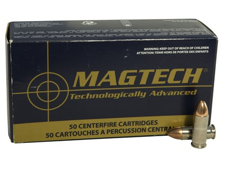 Magtech Sport Ammunition 38 Super +P 130 Grain Full Metal Jacket