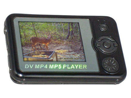Spypoint Digital Camera and Image Viewer 4.0 Megapixel Black
