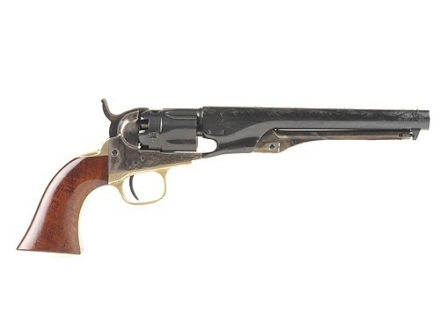Uberti 1862 Police Steel Frame Black Powder Revolver 36 Caliber Blue Barrel