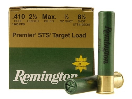 "Remington Premier STS Target Ammunition 410 Bore 2-1/2"" 1/2 oz #8-1/2 Shot"