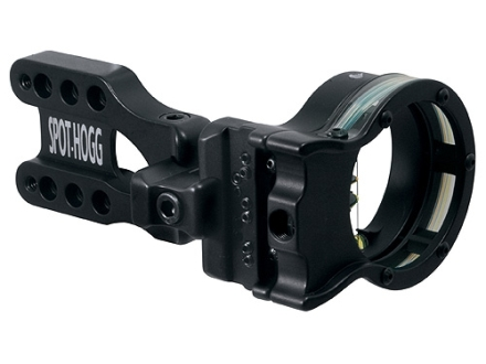 "Spot-Hogg Wrapped Right On 7-Pin Bow Sight .019"" Pin Diameter Large Guard Right Hand Aluminum Black"