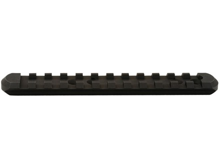 "Mesa Tactical Receiver Mount Picatinny Rail Standard Profile 4-1/2"" Length Mossberg 500 Aluminum Matte"