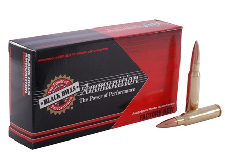 Black Hills Ammunition 308 Winchester 175 Grain Match Hollow Point Boat Tail Box of 20