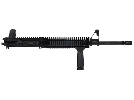 "Daniel Defense AR-15 DDM4v3 A3 Flat-Top Upper Assembly 5.56x45mm NATO 1 in 7"" Twist 16"" Government Barrel Chrome Lined CM with DDM4 9.0 Quad Rail Free Float Handguard, Flash Hider"