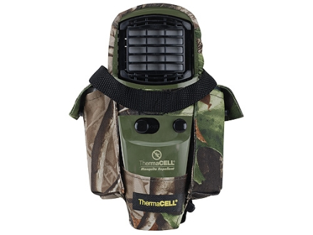 Thermacell Mosquito Repellent Olive Green with Holster Nylon Realtree Hardwoods Camo