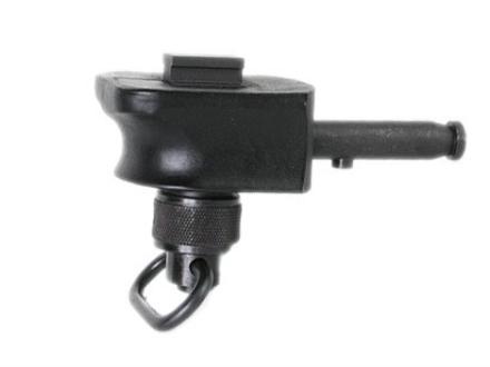 Versa-Pod Bipod Adapter Freeland Rail Black