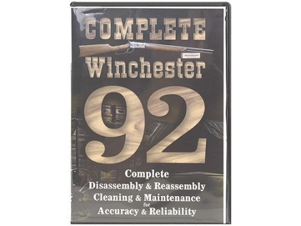 "Competitive Edge Gunworks Video ""Winchester 92 Complete Disassembly and Reassembly, Cleaning and Maintenance"" DVD"