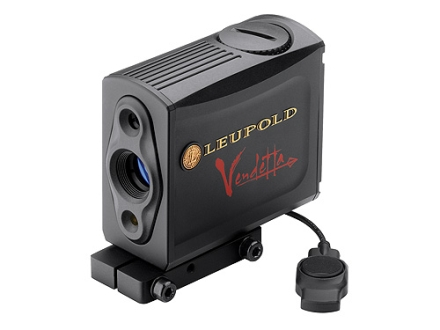 Leupold Vendetta TBR Bow Mounted Laser Rangefinder 70 Yard True Ballistic Range Armored Black with Mount and Pressure Pad Switch