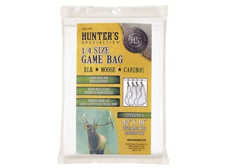 Hunter's Specialties Elk Meat Bag Polyester Pack of 4