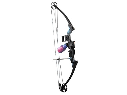AMS Jr. Hawk Bowfishing Compound Bow Kit Right Hand Koi Camo