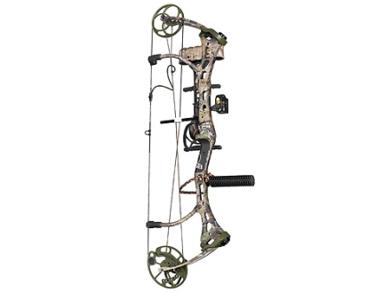 "Bear Mauler RTH Compound Bow Package Left Hand 50-60 lb. 27""-29"" Draw Length Realtree APG Camo"