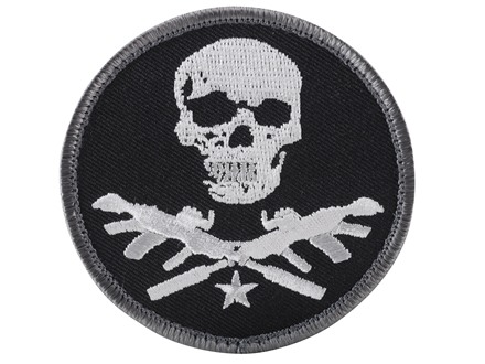 Advanced Armament Co (AAC) Round X-Guns Logo Patch Hook-&-Loop Fastener