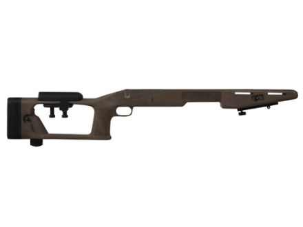 Choate Sniper Custom Rifle Stock Remington 700 BDL Short Action with Adjustable Length of Pull and Cheek Rest Varmint Barrel Channel Composite Black