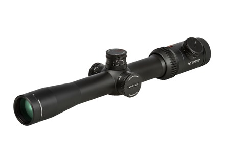Vortex Viper PST Rifle Scope 30mm Tube 2.5-10x 32mm Side Focus First Focal Plane Illuminated EBR-1 MOA Reticle Matte