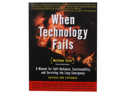"""When Technology Fails"" Book by Matthew Stein"