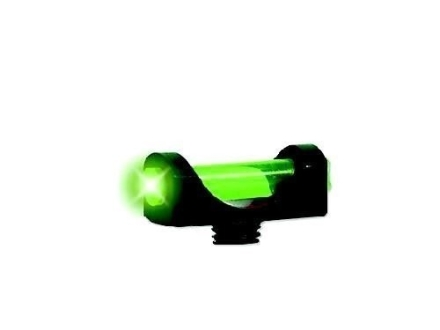 "Marble's Expert Shotgun Front Bead Sight 3/32"" Diameter 6-48 Oversize Thread .100"" Shank Fiber Optic Green"