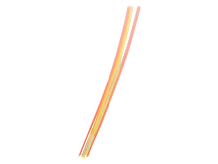 "TRUGLO Replacement Fiber Optic Rod 5.5"" x .019"" Green, Orange, Red, Ruby Red, Yellow Package of 5"