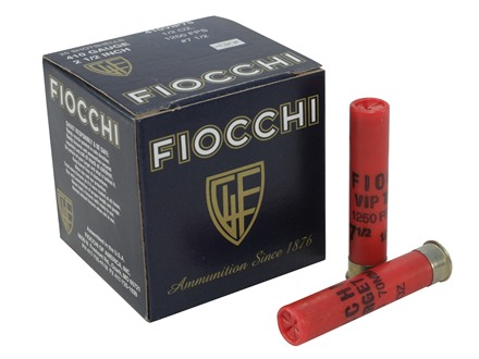 "Fiocchi Exacta Target Ammunition 410 Bore 2-1/2"" 1/2 oz #7-1/2 Shot"