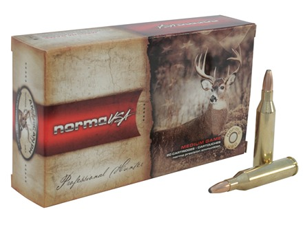 Norma USA American PH Ammunition 243 Winchester 100 Grain Oryx Protected Point Box of 20