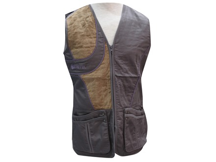 Beretta Women's Uniform Shooting Vest Polyester/Cotton Castlerock/Gray