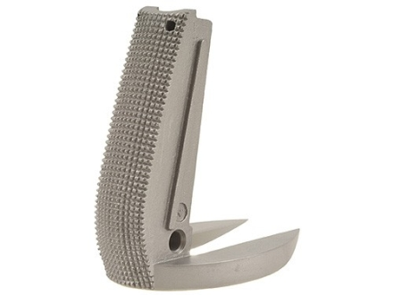 Kimber Mainspring Housing Arched with Oversized Magazine Well 1911 Government, Commander Checkered 20 LPI Stainless Steel