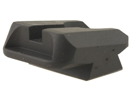Novak Carry Rear Sight 1911 Standard Rear Cut Steel Black