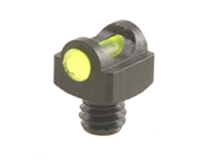 "Marble's Expert Shotgun Front Bead Sight .094"" Diameter 5-40 Thread 3/32"" Shank Fiber Optic Green"