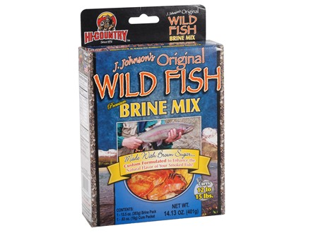 Hi-Country J Johnson's Original Recipe Fish Brine Mix 14.13 oz