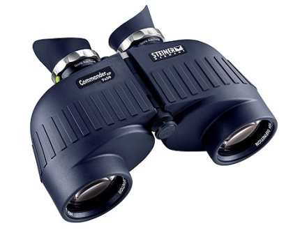 Steiner Commander XP Binocular 7x 50mm Porro Prism Rubber Armored Black