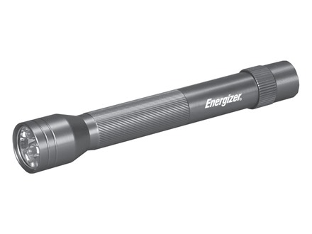 Energizer Eveready Compact Flashlight LED with 2 AA Batteries Aluminum
