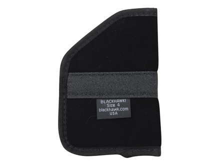 BlackHawk Pocket Holster Ambidextrous Medium Frame Semi-Automatic 9mm Luger 4-Layer Laminate Black