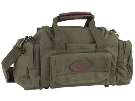 Boyt Sporting Clays Range Bag Canvas Green