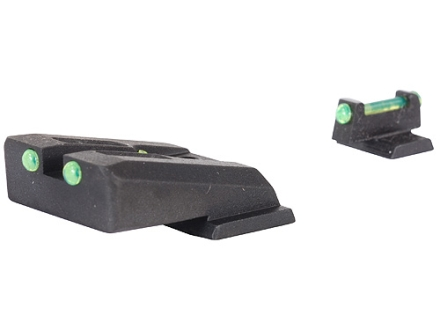 Novak Competition Sight Set S&W M&P Fiber Optic Green