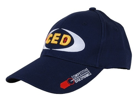 Team CED Cap Cotton Navy Adjustable