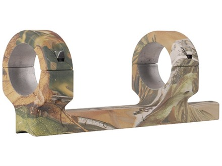 "DNZ Products Game Reaper 1-Piece Scope Base with 1"" Integral Rings CVA Black Powder APG Camo High"
