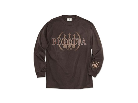Beretta Trident Long Sleeve T-Shirt Cotton
