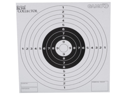 Gamo Bone Collector Paper Targets Pack of 100