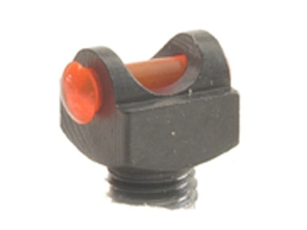 "Marble's Expert Shotgun Front Bead Sight .094"" Diameter 6-48 Thread 3/32"" Shank Fiber Optic Orange"