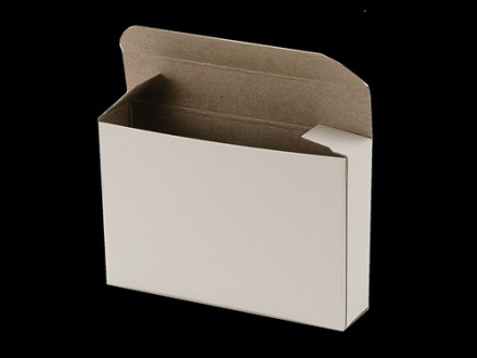 "BPI ""Factory Style"" Shotshell Box 410 Bore 2-1/2"", 3"" 5-Round White Package of 10"