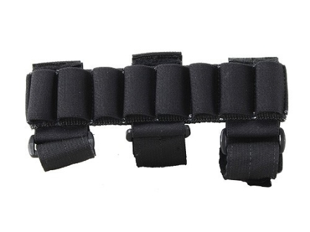 California Competition Works Arm Band Shotshell Ammunition Carrier 12 Gauge 8 Round Nylon Black