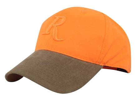 Remington Logo Cap Cotton Blaze Orange and Brown