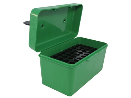 MTM Deluxe Flip-Top Ammo Box with Handle 22-250 Remington, 243 Winchester, 308 Winchester 50-Round Plastic