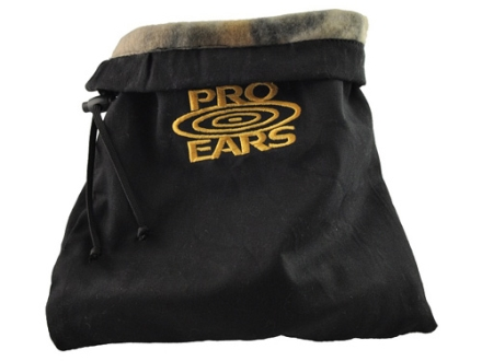 Pro Ears Custom Earmuff and Hearing Protection Carry Bag Twill Black
