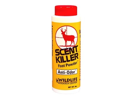 Wildlife Research Center Scent Killer Scent Elimination Foot Powder 4 oz